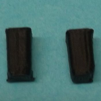 Pack of 2 N Scale Wheelie Bins